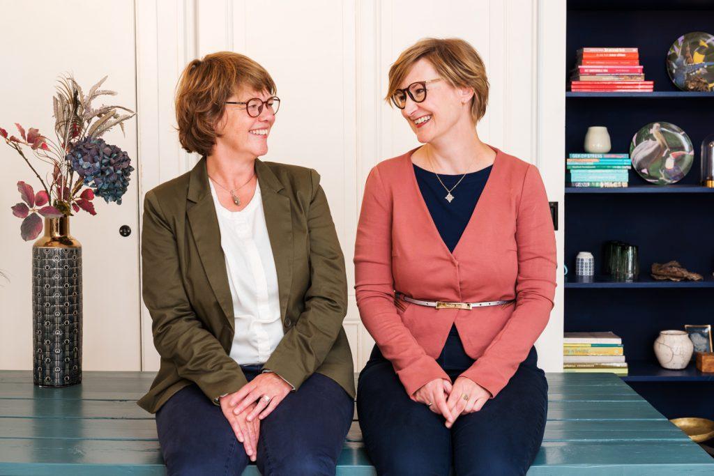 je stress de baas marjoke van lingen en Janet van den Broek